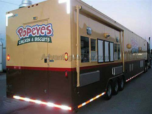 custom concession trailer