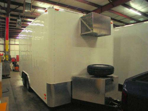 used aluminum trailer