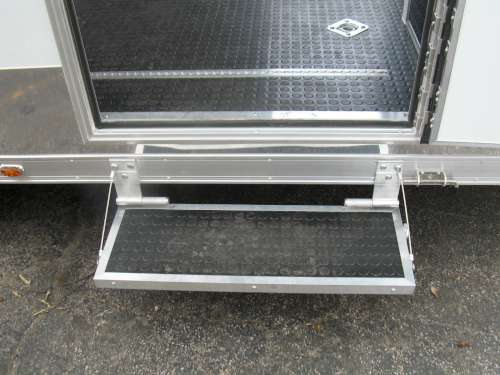 E168678 #009 Shot of Passenger Side Fold Up Step Under Side Door