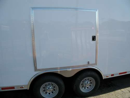 E168684 #002 Driver Side Escape Door Stowed