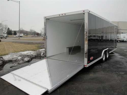 E169473 #004 Rear Passenger with Rear Ramp Deployed and Side Door Stowed
