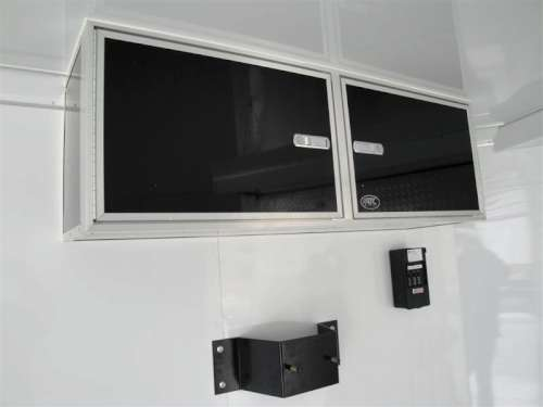 E169473 #006 Driver Ceiling Mounted Cabinet with Spare Mount Below
