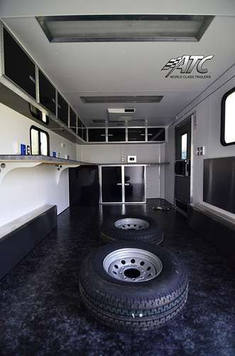 S194763 #007 Front View Mobile Command Office Interior