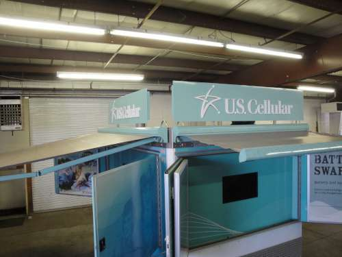 USCELL #003 Roof Mounted Signage